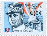 Eslováquia - Milan Rastislav Štefánik, foi maçom, militar, político, diplomata, astrônomo eslovaco