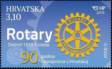2019 Croácia Rotary Club 90 aos distrito 1913