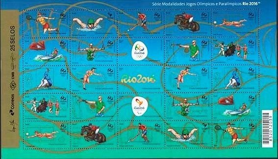 2015 FOLHA MODALIDADES OLÍMPICAS III  Series modalities of Olympic games