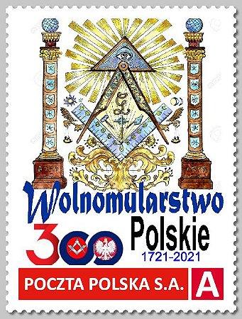 2021 Polônia - 300 anos da Maçonaria Polonesa