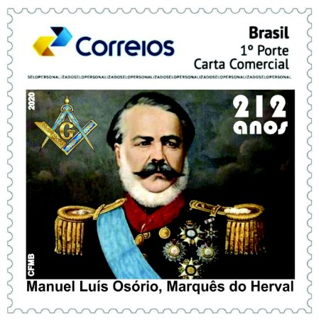 2020 Marques do Herval - 212 anos - SP mint novo