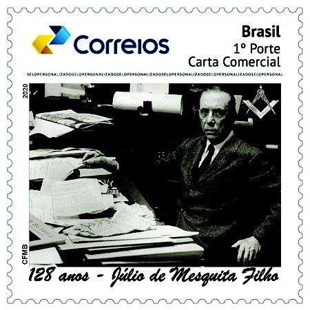 2020 Julio César Ferreira de Mesquita Filho foi um jornalista e maçom - SP mint