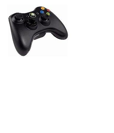 Controle Xbox 360 Slim Sem Fio Feir