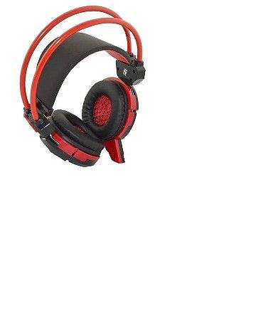 Headset Gamer Com Microfone Led E Cabo P2 USB GH-X30 Infokit
