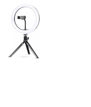Iluminador Ring Light 10 120 Leds 3200k A 5600k Com Tripe