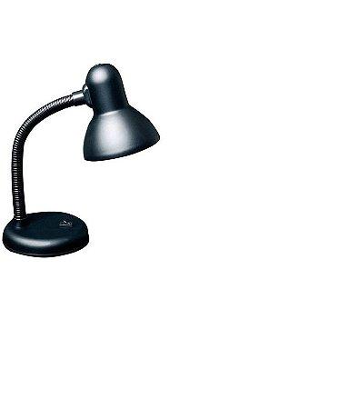 Luminária de mesa Versaty 1 Lampada E27 Preto Bronzearte