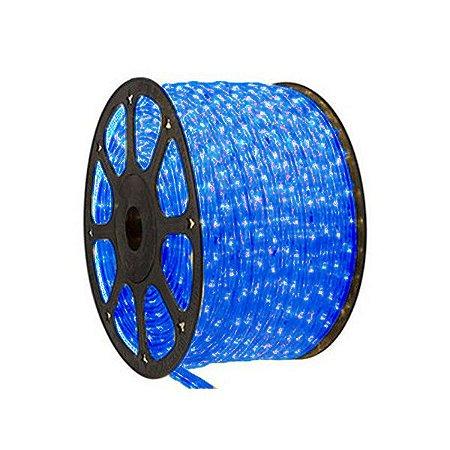 Mangueira de Led 10 metros 300 LEDs Azul Bronzearte