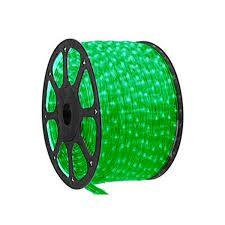 Mangueira de Led 10 metros 300 LEDs Verde Bronzearte