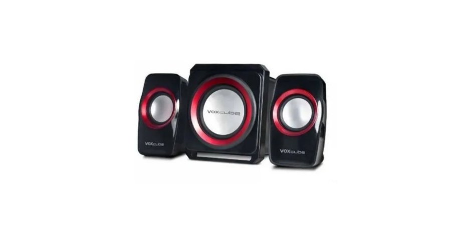 Caixa Som Vox Cube Bluetooth 18w Subwoofer Usb Sd Vc-g500bt