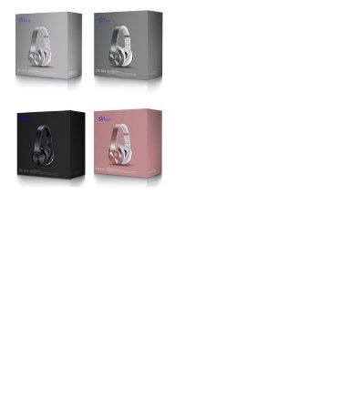 Fone De Ouvido Feir Fr-504 2 Em 1caixa- Bluetooth Fm Branco