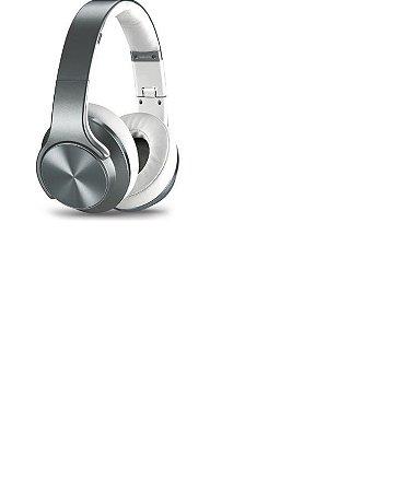 Fone De Ouvido Feir Fr-504 2 Em 1caixa- Bluetooth Fm Grafite