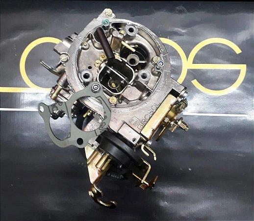 Carburador Del Rey 89 2e Brosol Motor 1.8 Álcool com Original