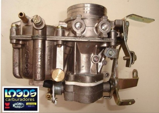 CARBURADOR RECONDICIONADO H-35 PDSI PASSAT A ÁLCOOL