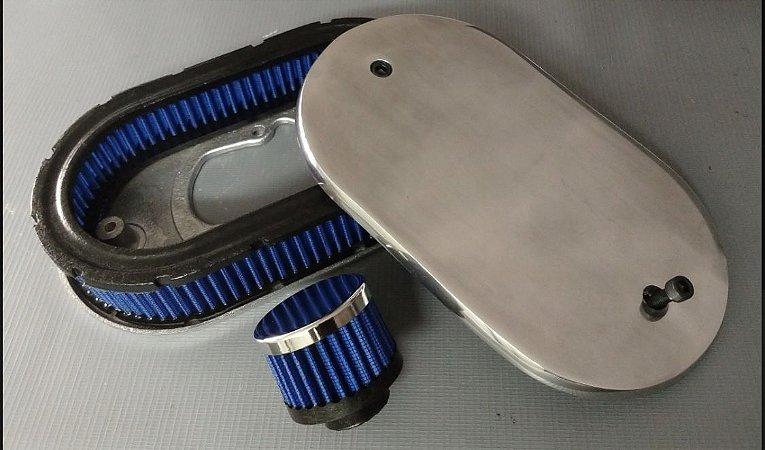 Filtro de Ar Esportivo Gol Quadrado Ap 2e Azul