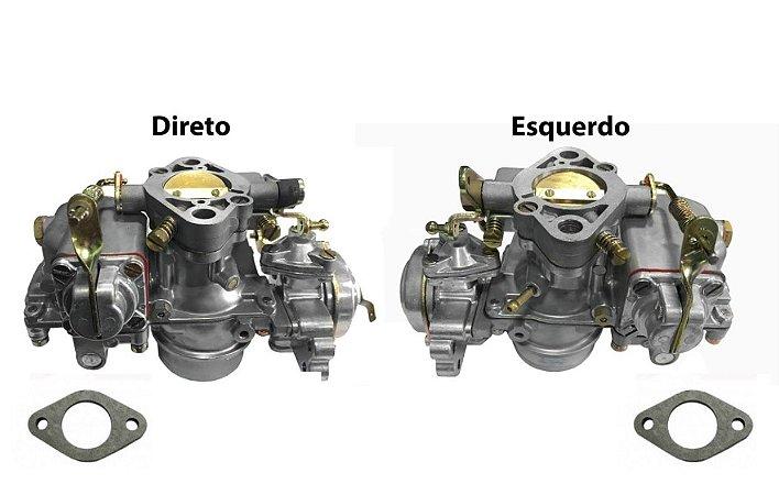 Carburador Fusca Duplo 1500/1600 ano 79/86 Gasolina Original Solex