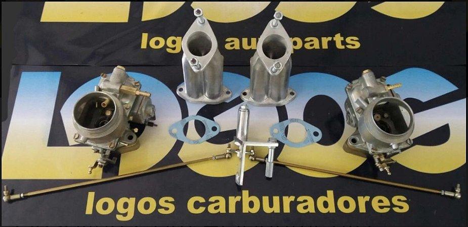 Kit Solex 40 Original a Gasolina com Acionamento Roletado