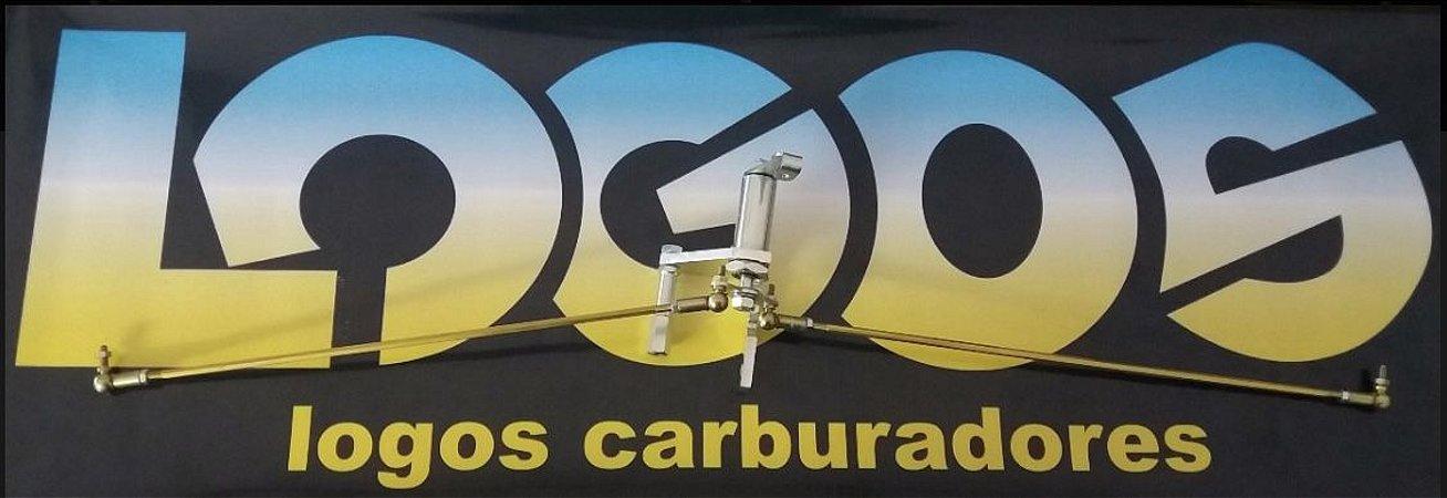 Torres e Varetas Acionamento Dupla Carburação Roletado Solex 40