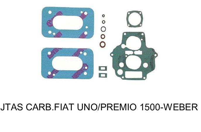 JUNTAS FIAT 460 WEBER UNO / PRÊMIO 1.5