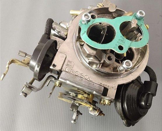 Carburador Escort XR-3 89 Álcool 2e Brosol Motor 1.8