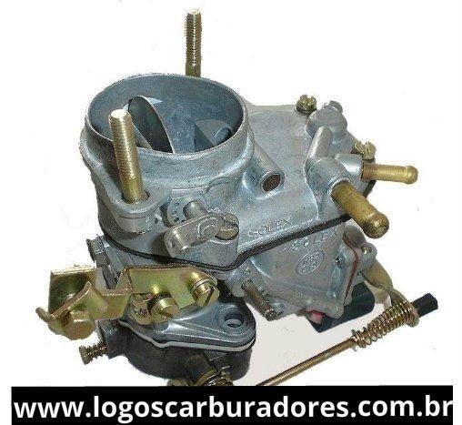 CARBURADOR RECONDICIONADO FIAT SOLEX GASOLINA 1050