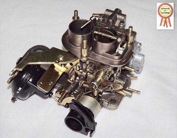 Carburador Gol Quadrado 84/85 Mini Progressivo 1.6 Álcool Original Weber