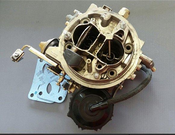 Carburador Del Rey 89/91 Tldz Weberc/ Ar Condicionado 1.8 Álcool