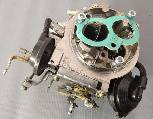 Carburador Del Rey 89 2e Brosol 1.8 Álcool Original