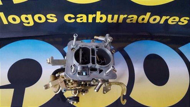 Carburador Gol 91 Motor Cht 1.6 Gasolina + Filtro Esportivo Azul com Respiro de Óleo+ base de ferro e borracha