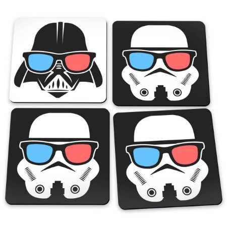 Porta Copos Darth Vader