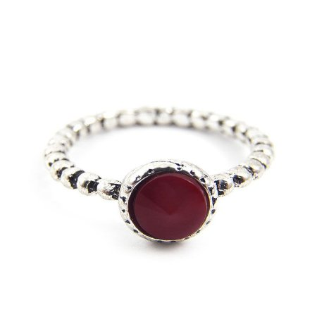 Anel Inspired Pandora - Vermelho