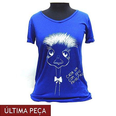 Camiseta EMA gola V
