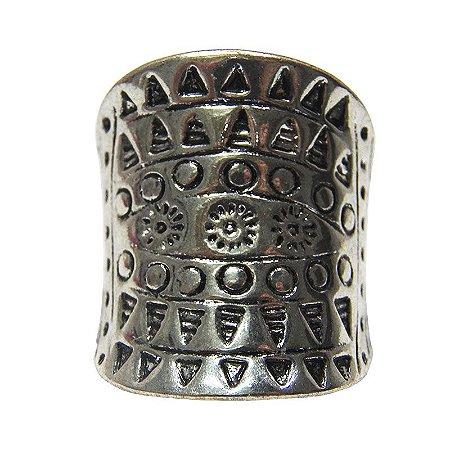 Maxi anel estampa maia