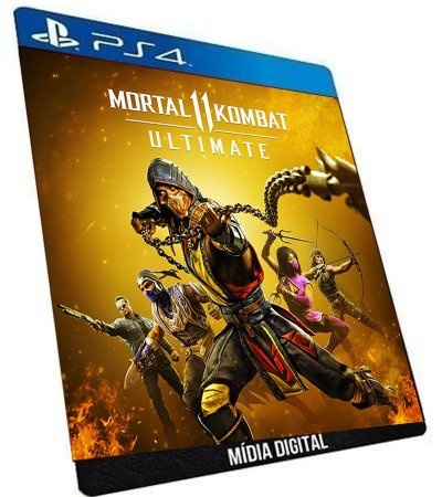 Mortal Kombat 11 Ultimate Ps4 Game Digital PSN