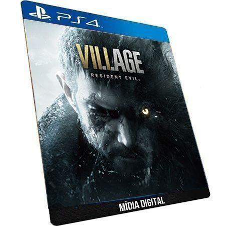 Resident Evil Village PS4 Digital PSN Game Aluguel
