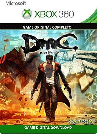 Devil May Cry DmC Game Xbox 360 Mídia Digital Original