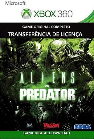 Aliens vs Predator Game Xbox 360 Mídia Digital Original