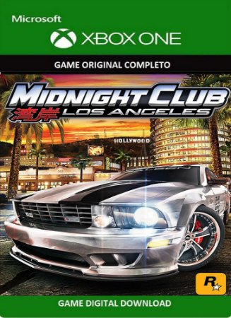 MidNight Club: Los Angeles Xbox One Game Midia Digital