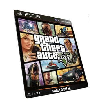 Gta V Português PS3 Game Digital PSN