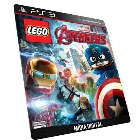 Lego Marvel Avengers Vingadores PS3 Game Digital PSN