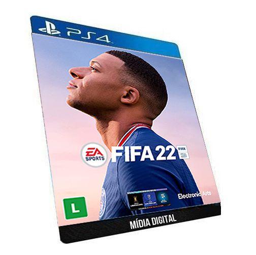Fifa 22 PS4 Game em Mídia Digital Original PSN