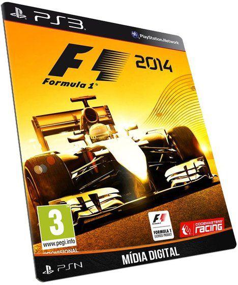 F1 2014 - Mídia Digital PSN - Jogo Ps3 Original - Inglês