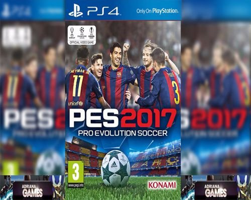 PES 2017 PRO EVOLUTION SOCCER 2017 PS4 PSN DIGITAL PLAYSTATION STORE
