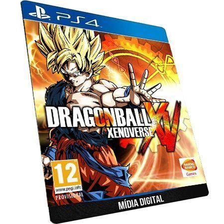 DRAGON BALL XENOVERSE PS4 DIGITAL PSN - ORIGINAL