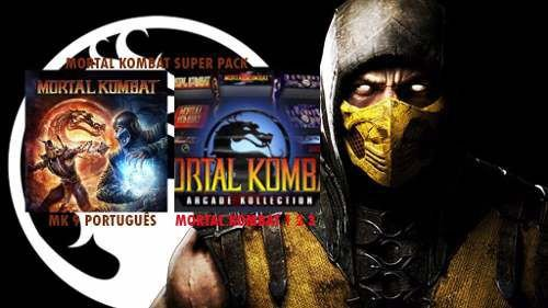 Mortal Kombat Coleção 1 2 3 9 PSN PS3 - GAME DIGITAL ORIGINAL