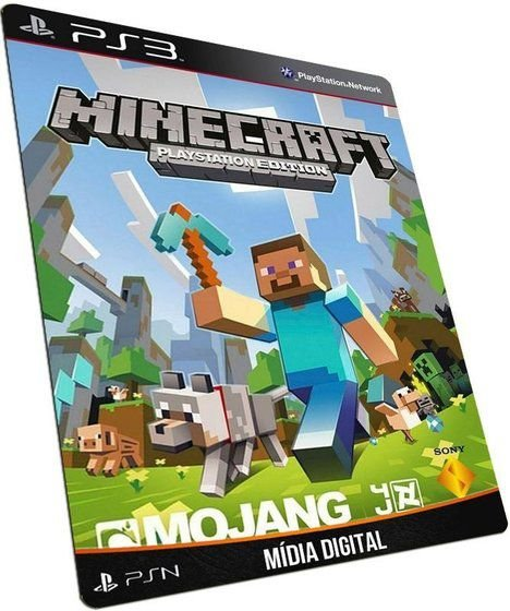 Minecraft Playstation 3 Edition Português PSN PS3 - GAME DIGITAL ORIGINAL
