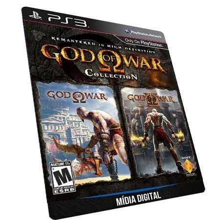 God of War Collection 1 e 2 PS3 Game Digital PSN
