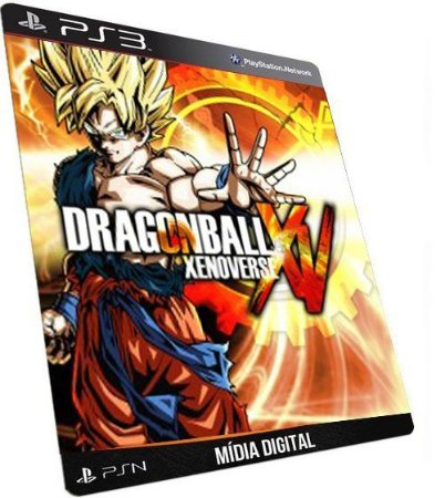 Dragon Ball Z Xenoverse + Naruto Shippuden Ultimate Ninja Storm Revolution  Game PS3 Digital PSN