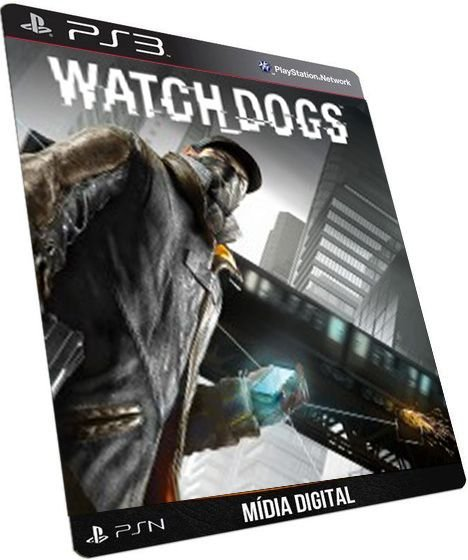 Watch Dogs Dublado PS3 PSN GAME DIGITAL PLAYSTATION STORE