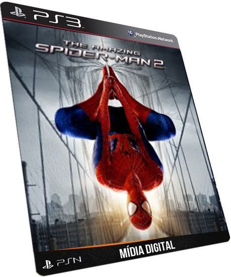 The Amazing Spider-Man 2 Edição Ouro PS3 Game Digital PSN