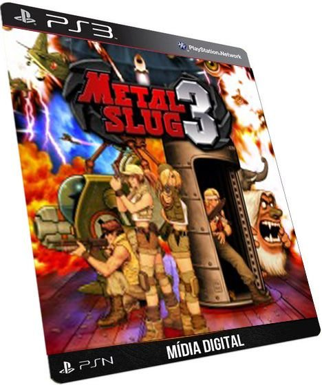 Metal Slug 3 SNK GAME DIGITAL PS3 PSN PLAYSTATION STORE